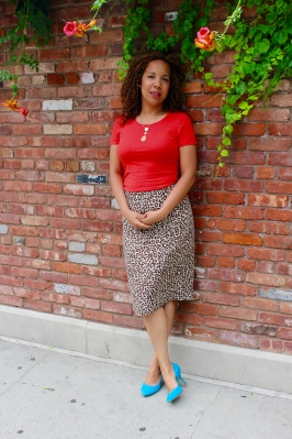 Spirit top, Jcrew No.2 pencil skirt